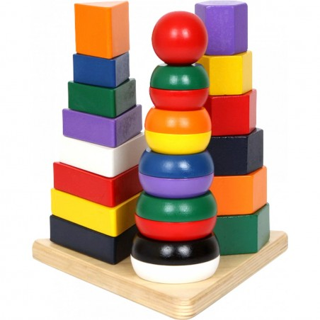 small foot Stable Pyramide 3 i 1