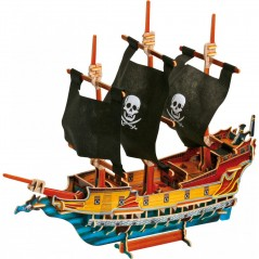 Decommissioned - 3D Puzzle Pirate Ship